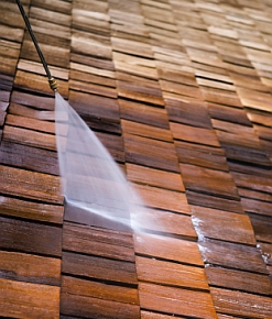 Shingle cleaning with PWSI Boise Pressure Washing